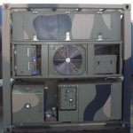 20ft Military Refrigerated Container (has two temperature zones)