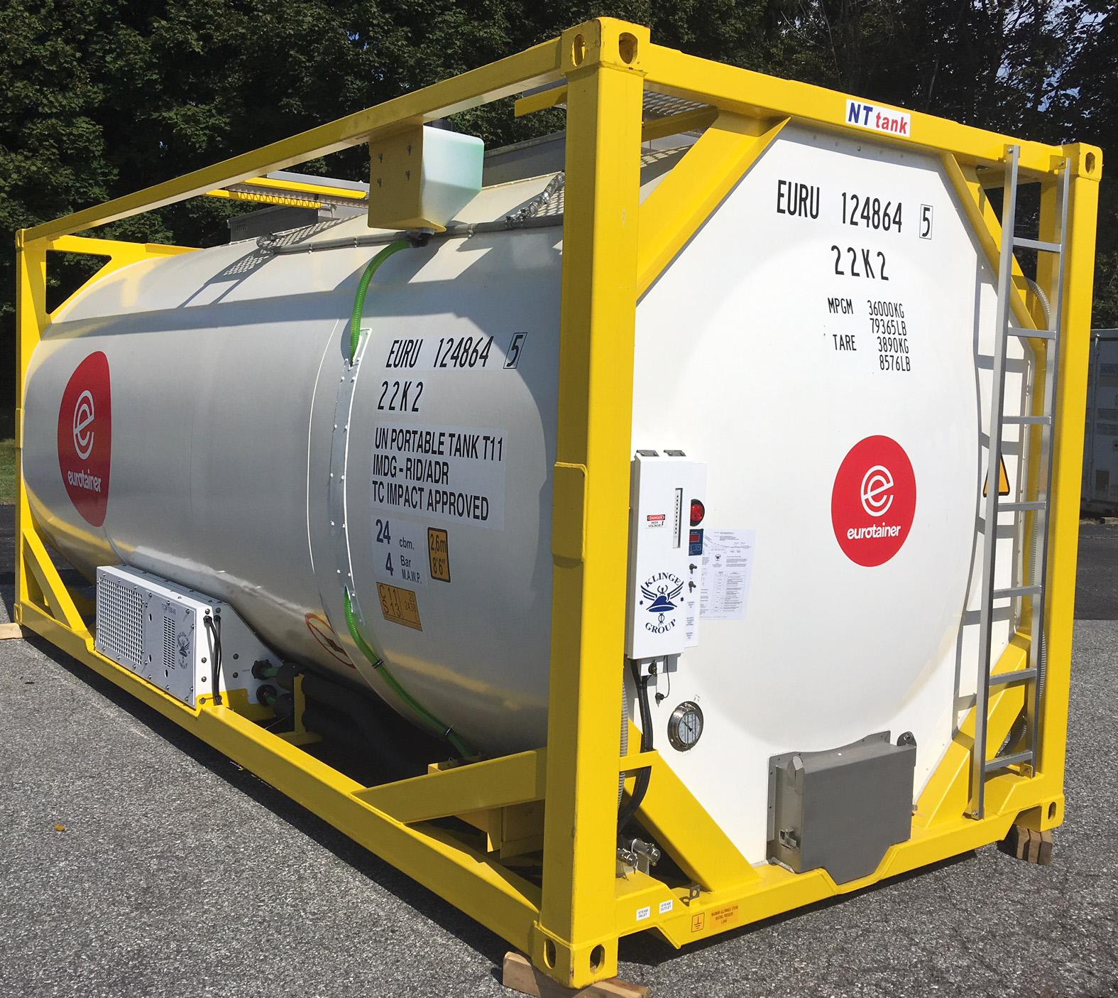 Tank Container Refrigeration & Heating Units | Klinge Corporation