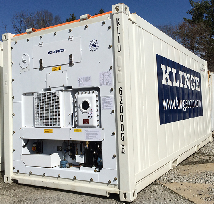 Zone 2 Explosion-Proof Refrigerated Container