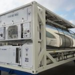 Dual Tank Container Refrigeration Unit with Integral Genset