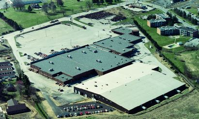 Aerial view of Klinge Corp facility