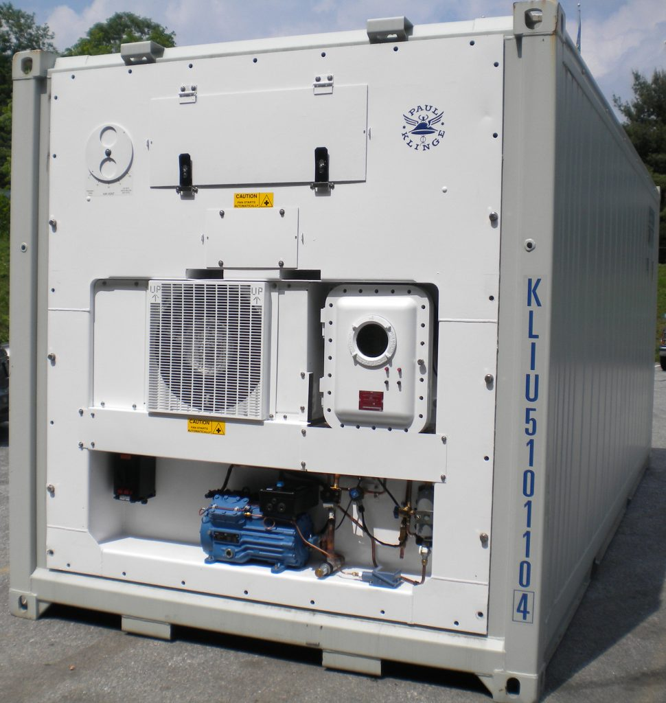 Explosion-Proof Refrigerated Container (Model PFR-581 Z1)
