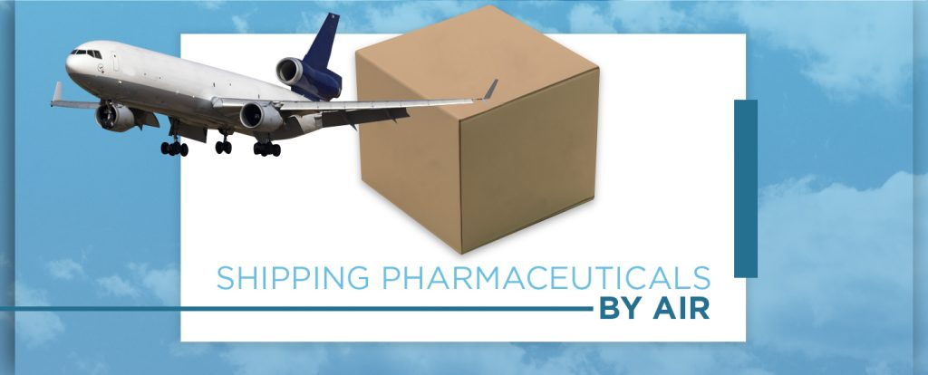 Plane Carrying Pharmaceutical Shipment