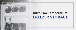 Ultra Low Temperature Freezer Storage