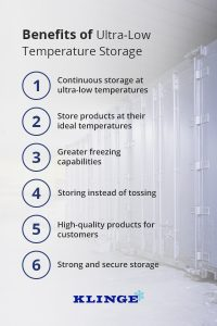 Benefits of Ultra Low Temperature Storage