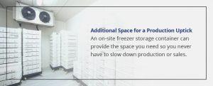 Additional Freezer Storage Space
