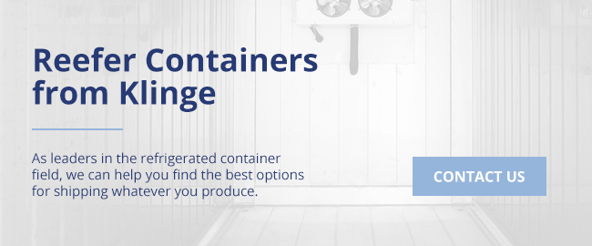 Reefer Containers from Klinge