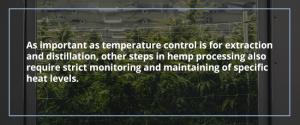 Temperature Control Applications for Hemp Processing