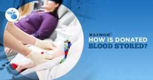 How is Donated Blood Stored