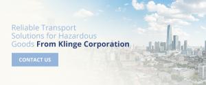 Reliable Transport for Hazardous Goods from Klinge Corporation