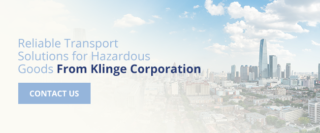 Reliable Transport for Hazardous Goods from Klinge Corporation