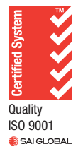 Certified System ISO 9001 Logo
